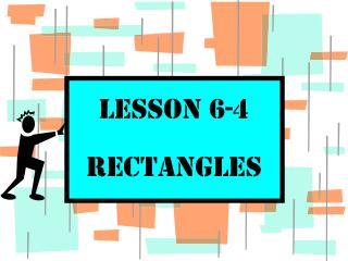Lesson 6-4