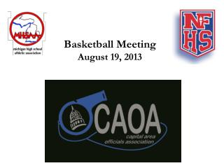 Basketball Meeting August 19, 2013