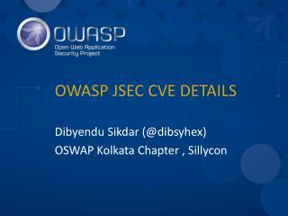 OWASP JSEC CVE DETAILS