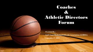 Coaches  &  Athletic Directors Forum