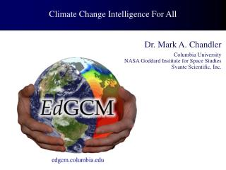 Climate Change Intelligence For All