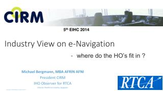 Industry View on e-Navigation
