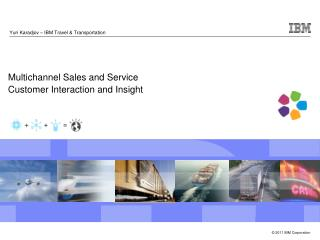 Multichannel Sales and Service  Customer Interaction and Insight