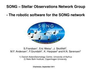 SONG � Stellar Observations Network Group - The robotic software for the SONG network