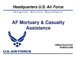 AF Mortuary & Casualty Assistance
