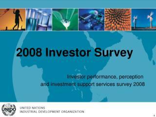 2008 Investor Survey