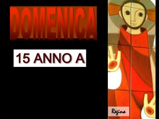 15 ANNO A