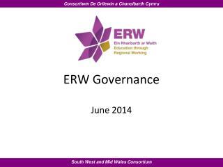 ERW  Governance