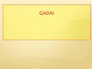 GADAI