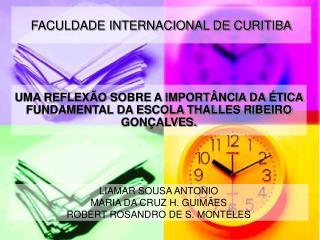 FACULDADE INTERNACIONAL DE CURITIBA
