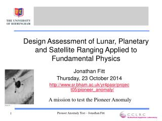 Design Assessment of Lunar, Planetary and Satellite Ranging Applied to Fundamental Physics