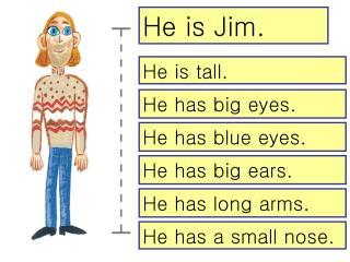 He is Jim.