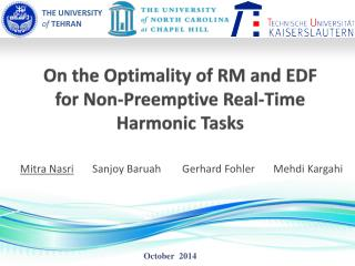 On the Optimality of RM and EDF  for Non-Preemptive Real-Time Harmonic Tasks