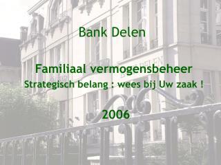 Bank Delen