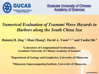 Numerical Evaluation of Tsunami Wave Hazards in Harbors along the South China Sea