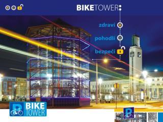 BIKE TOWER – důležitý prvek v podpoře cyklistiky