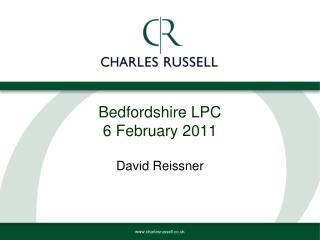 Bedfordshire LPC 6 February 2011