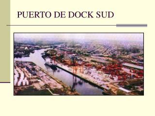 PUERTO DE DOCK SUD