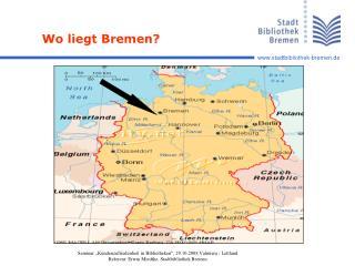 Wo liegt Bremen?
