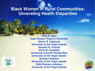 Black Women in Rural Communities: Unraveling Health Disparities