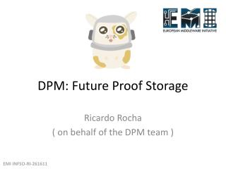 DPM: Future Proof Storage