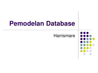 Pemodelan Database