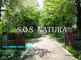 S.O.S  NATURA