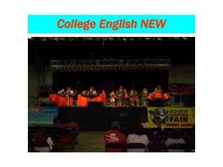 College English NEW