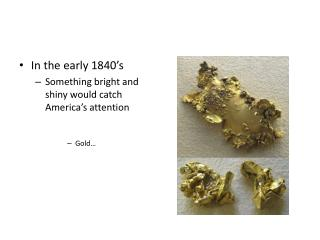 Chapter 17.4  The California Gold Rush