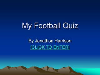 My Football Quiz