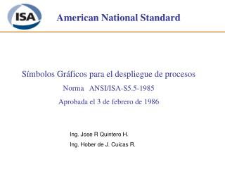 American National Standard