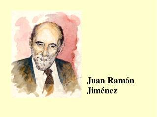 Juan Ram n Jim nez
