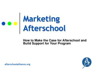 Marketing Afterschool