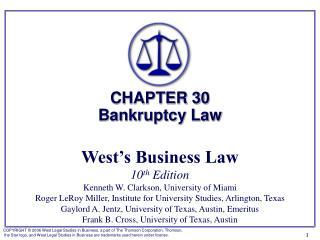 �1:   Bankruptcy Proceedings