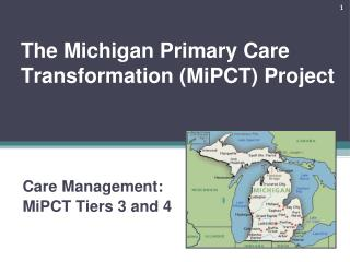 The Michigan Primary Care Transformation (MiPCT) Project