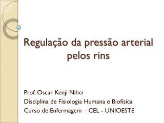 Regulação da pressão arterial pelos rins
