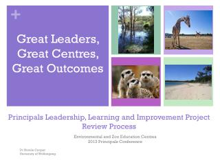 Principals Leadership, Learning and Improvement Project Review Process
