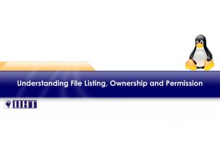 Understanding File Listing, Ownership and Permission
