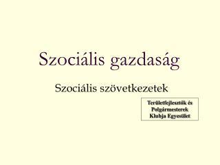 Szociális gazdaság