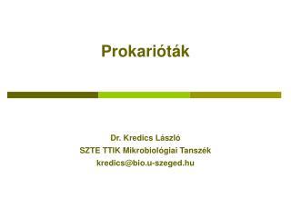 Prokarióták