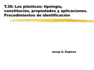 Josep A. Espinos