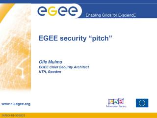 "EGEE security ""pitch"""