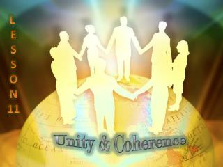 Unity & Coherence