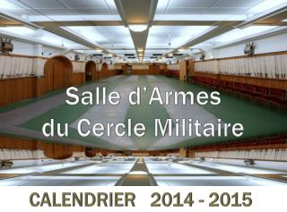 Salle d'Armes du Cercle Militaire