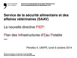 Pérolles  II, UNIFR, lundi 6 octobre 2014