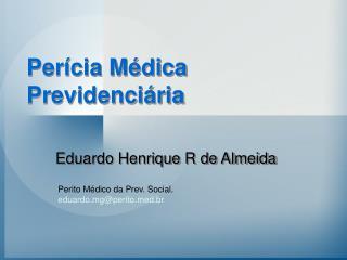 Eduardo Henrique R de Almeida
