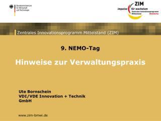 Zentrales Innovationsprogramm Mittelstand ZIM