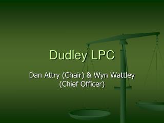 Dudley LPC