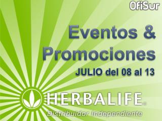 Eventos & Promociones