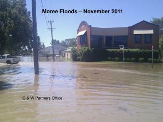 Moree Floods   November 2011